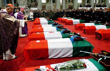 Funerali di stato per le vittime di Nassiriya