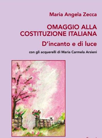 Libro Omaggio alla Costituzione- Italiana