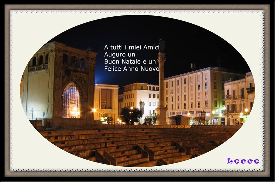 Lecce Auguri Buon natale
