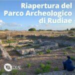 Riapre finalmente il Parco Archeologico di Rudiae