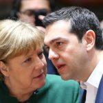 Merkell e Tsipras