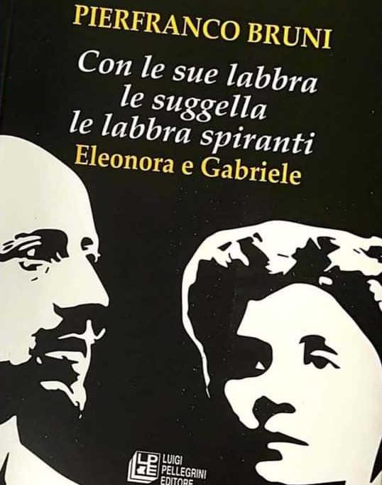 Copertina libro con disegno in banco e nero del volto di un uomo e di una donna